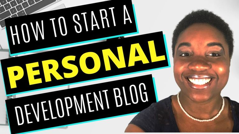 How to Start a Personal Development Blog - Featured Image