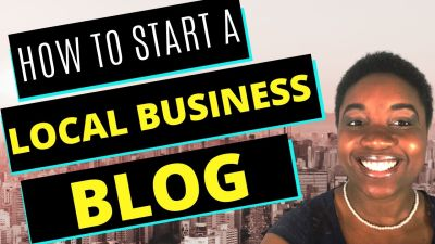 How to Start a Local Business Blog