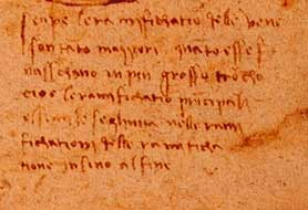 why leonardo da vinci use mirror writing and dyslexia
