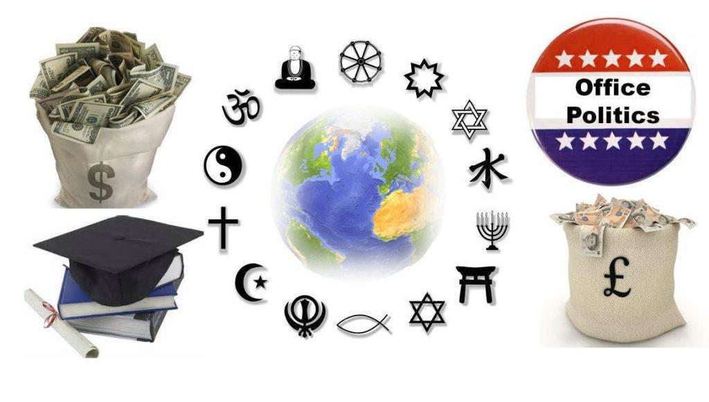 religion money politics