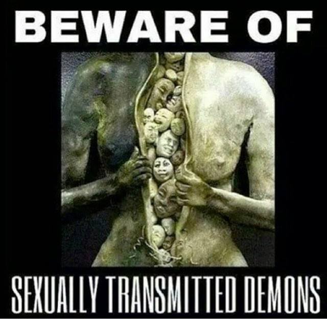 Casual Sex Sucks Your Soul  >> Beware Of Sexually Transmitted Demons How To Exit The Matrix How
