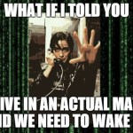 Trinity from The Matrix Explains How We Are Living In an Actual Matrix