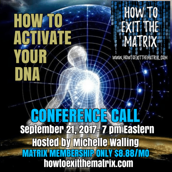 Activate Your DNA-Upcoming Conference Call
