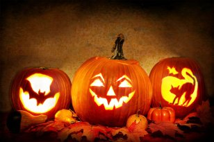 How to preserve a carved pumpkin in Halloween
