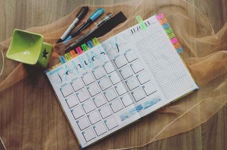 A schedule