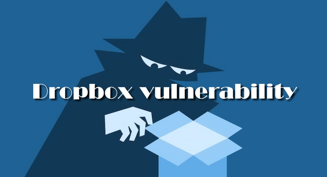 Vulnerability in DropBox elevating Privileges