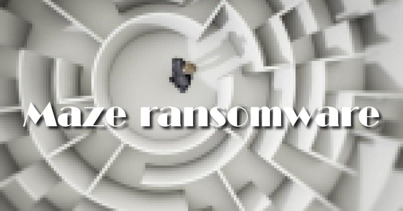 Maze published stolen data