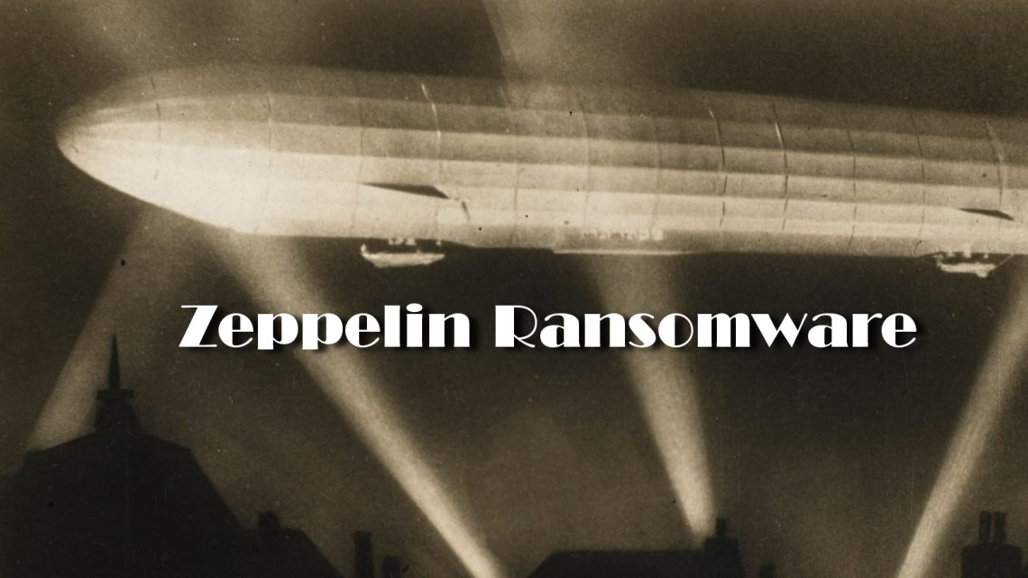 Zeppelin uses remote desktop