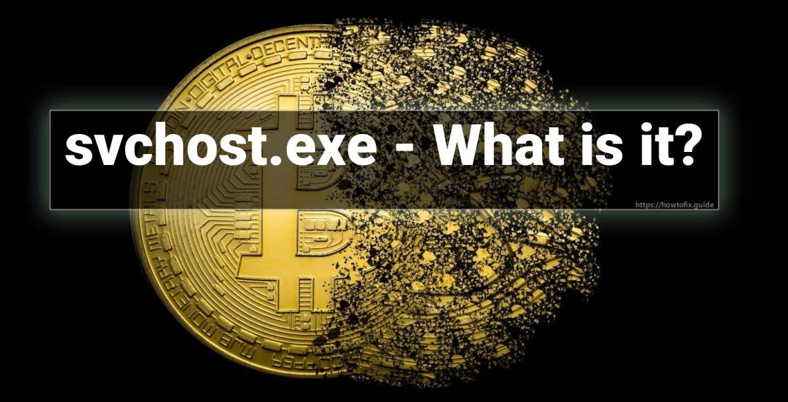 bitcoin minatore svchost exe