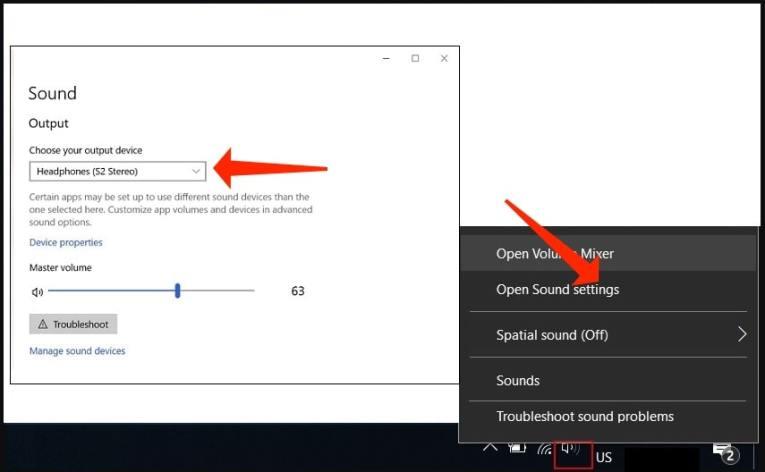 Modify Sound Settings - fix problem