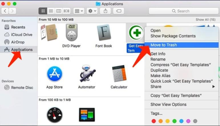 Delete browser hijackers from Mac