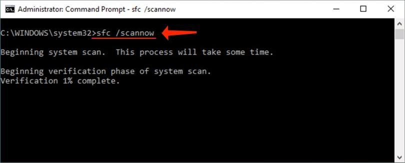 DPC Watchdog Violation Error - sfc /scannow