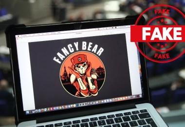 blackmailers pretend Fancy Bear