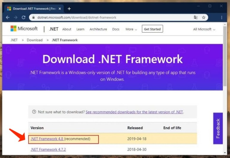 0xc000007b - Reinstalling the .NET Framework