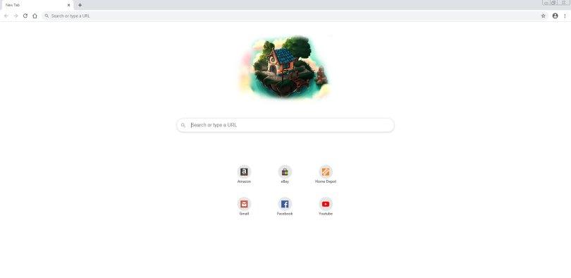 WebNavigatorBrowser - Start Page