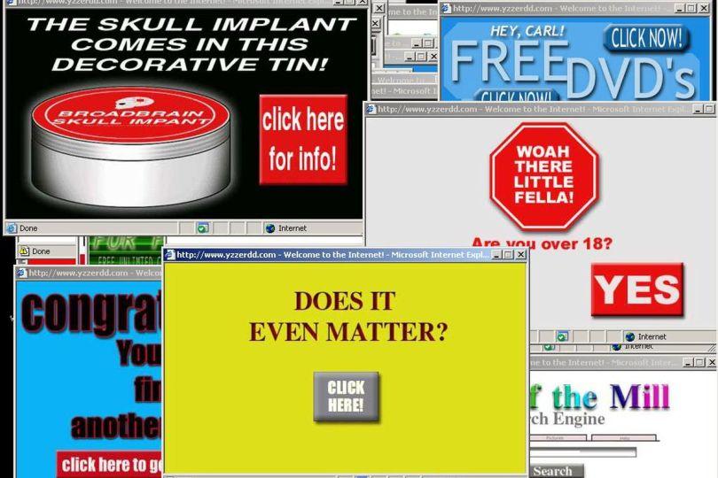 Spam advertisements