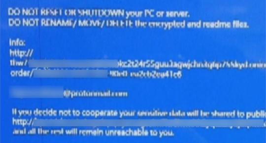 Compal suffered from DoppelPaymer ransomware