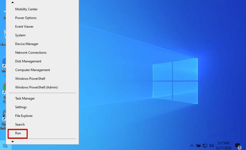 Windowsでコマンドを実行する