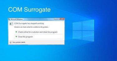COM Surrogate (dllhost.exe)