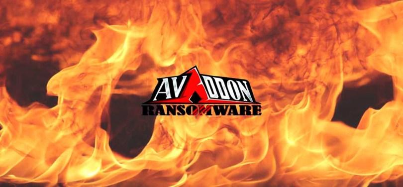 free decryptor for Avaddon