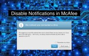 McAfee: Disable Notifications and Bundled Apps