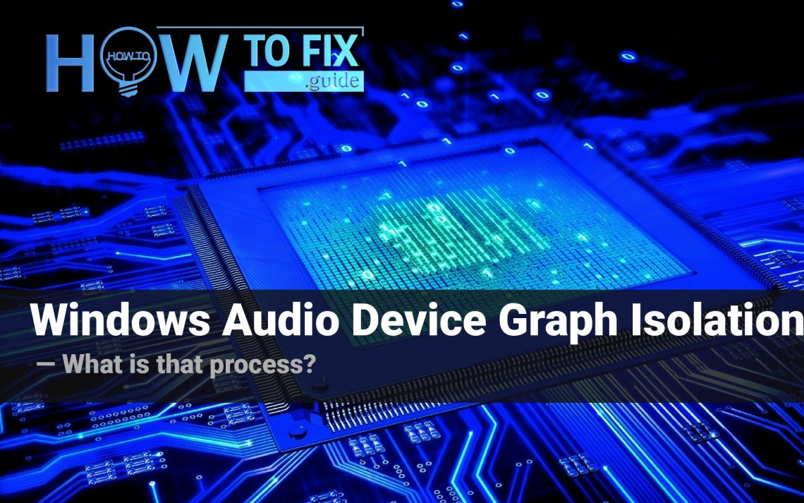 Windows Audio Device Graph Isolation – what hides under that name?
