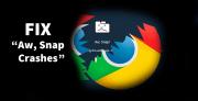 Aw Snap! Fix: Problem beim Laden von Chrome-Seiten