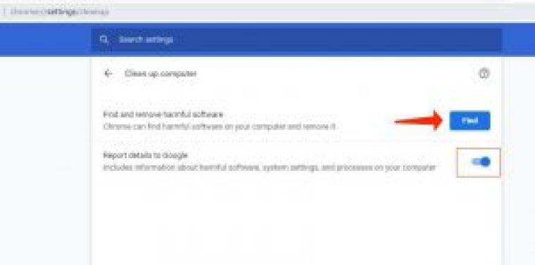 aw snap problem - entfernen Sie schädliche Software