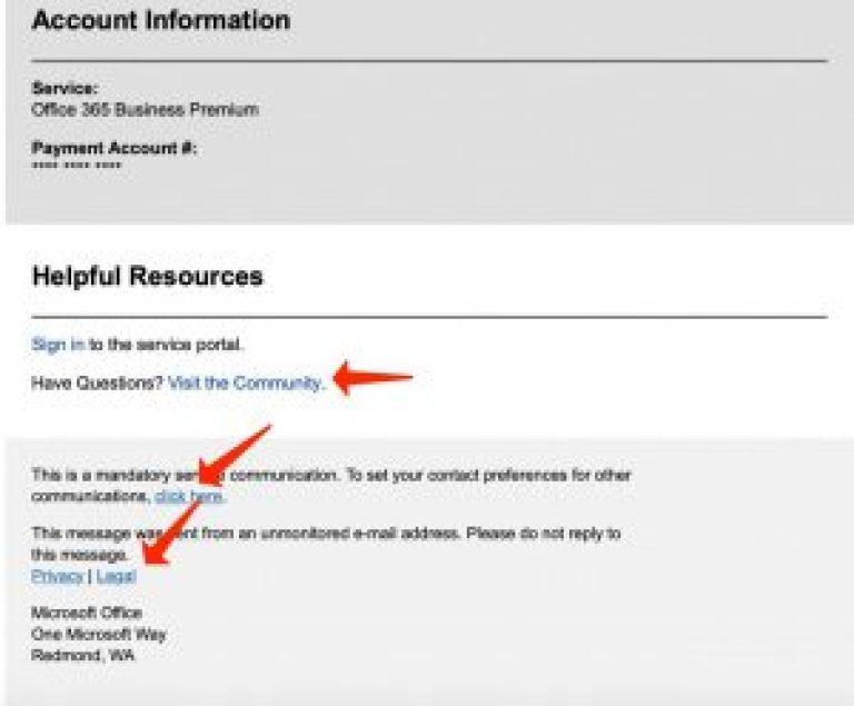 Phishing mit echten Links