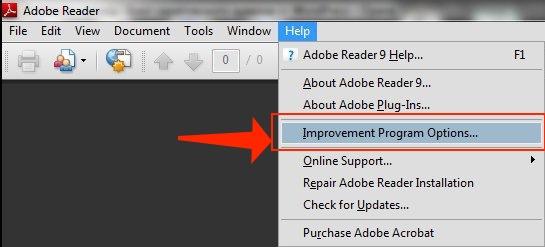 LogTransport2.exe fix - adobe improvement program option