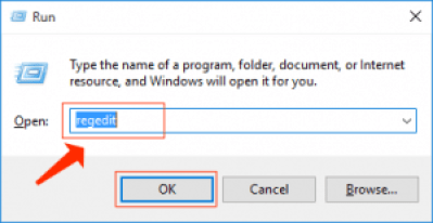 windows- ejecutar regedit