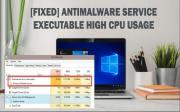 """Uso elevado de CPU """"Antimalware Service Executable"""": guía de reparación"""