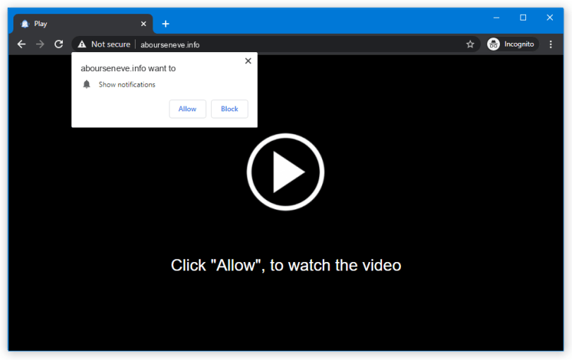 Abourseneve.info push notification
