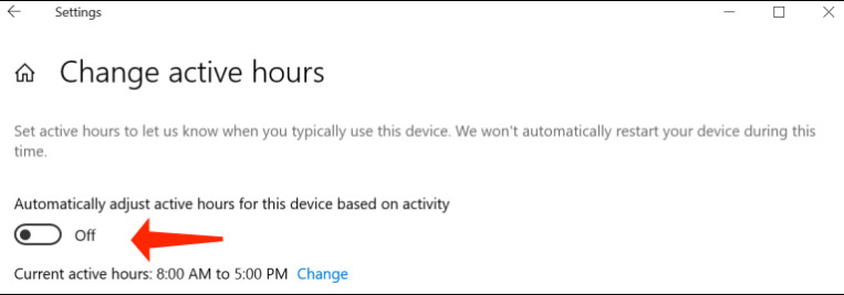 resolve issues in windows 10 - disable auto reboots