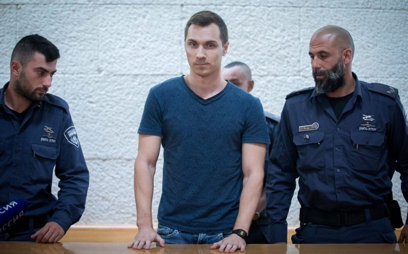 Alexey Burkov deported to Russia
