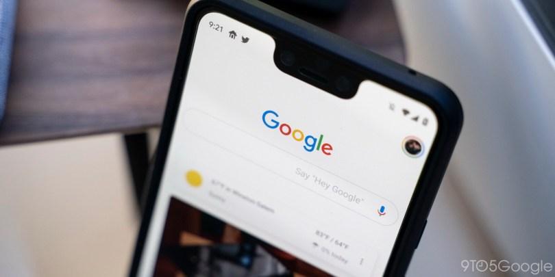 Google Search bug