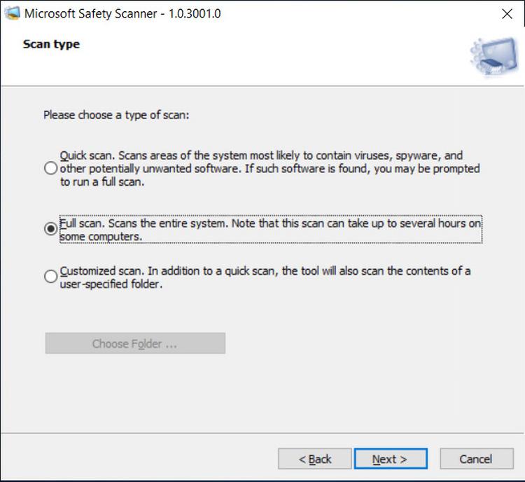 MSERT tool interface