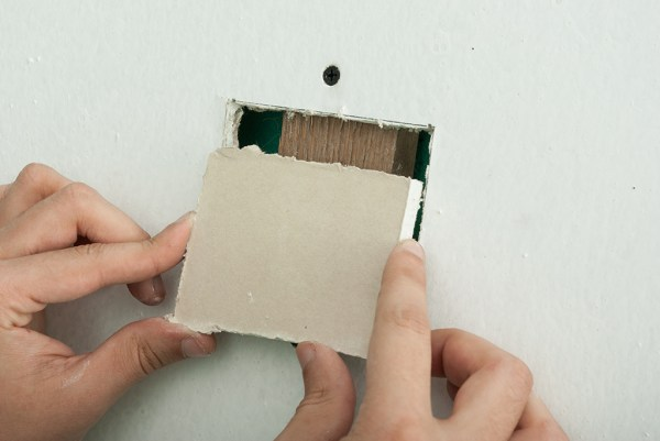 How to fix a large hole in drywall
