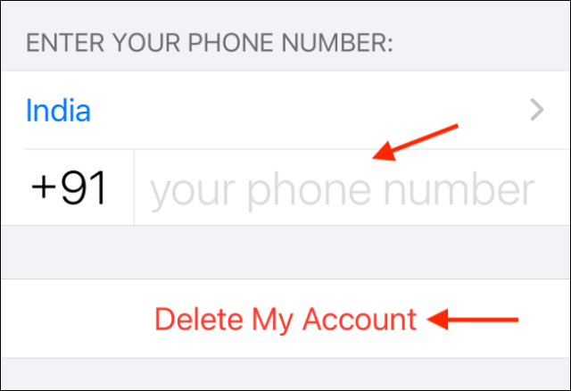 How to Delete Your WhatsApp Account 11
