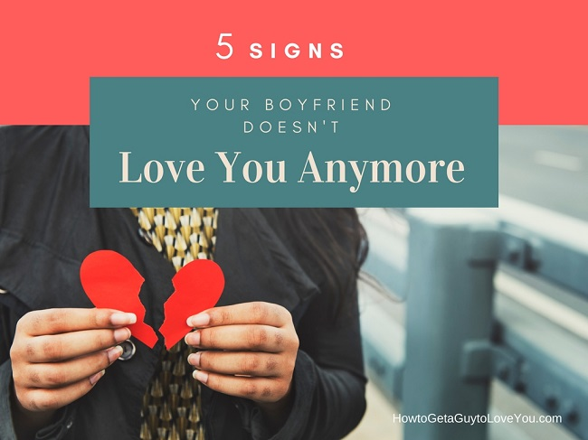Signs he dont love me anymore