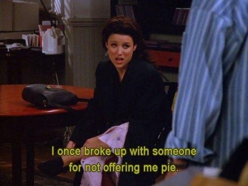 elaine break up