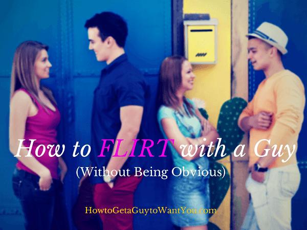 flirt without flirting