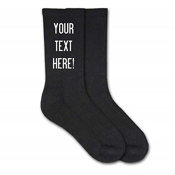 socks gift idea for boyfriend far away