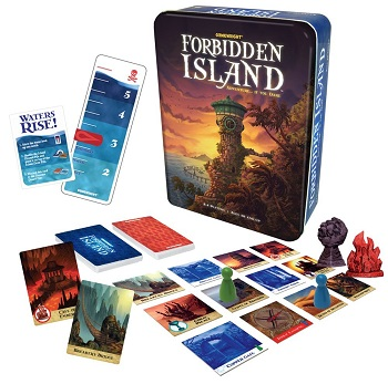 the forbidden island cooperative card game