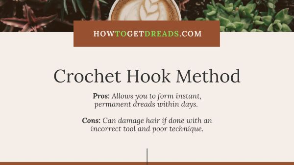 Crochet Hook Method Dreadlocks