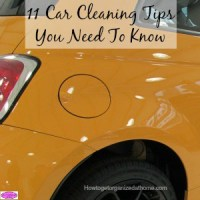 11 Car Cleaning Tips You Need To Know