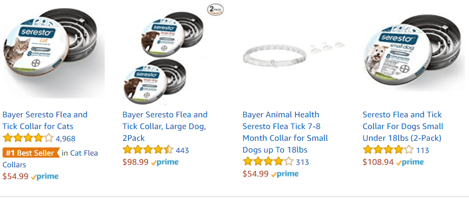 graphic relating to Printable Coupon for Seresto Flea Collar named Seresto Flea Collar