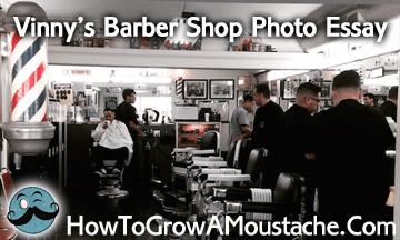 vinny s barber shop how to grow a moustache vinny s barbershop photo essay