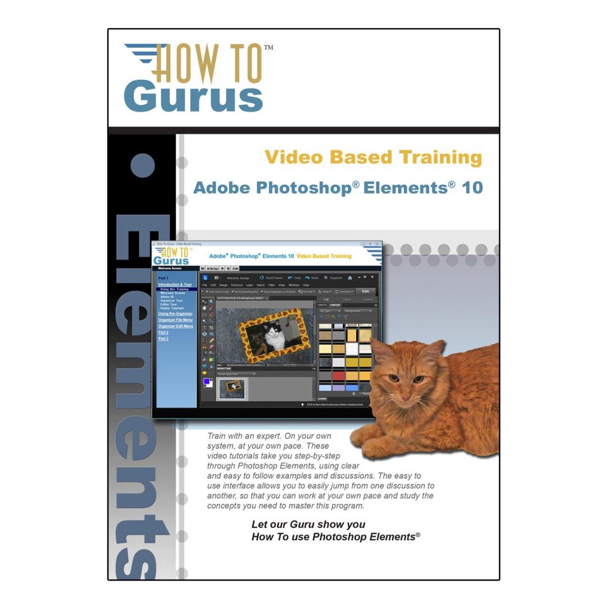 Photoshop Elements 10 Online Course
