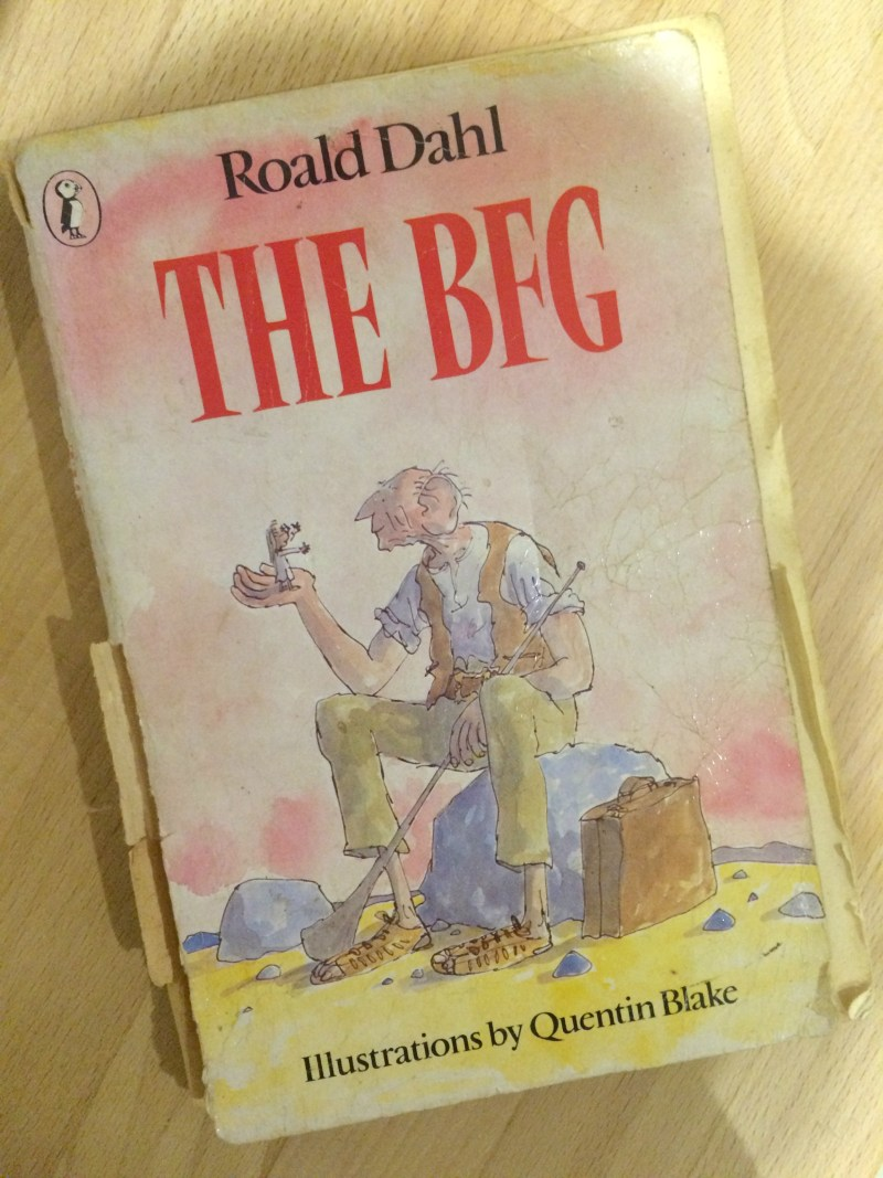 The Benefits of a Bare Room: Why Emptying A Space Is So Important When Decluttering – KonMari Method books, Roald Dahl, The BFG